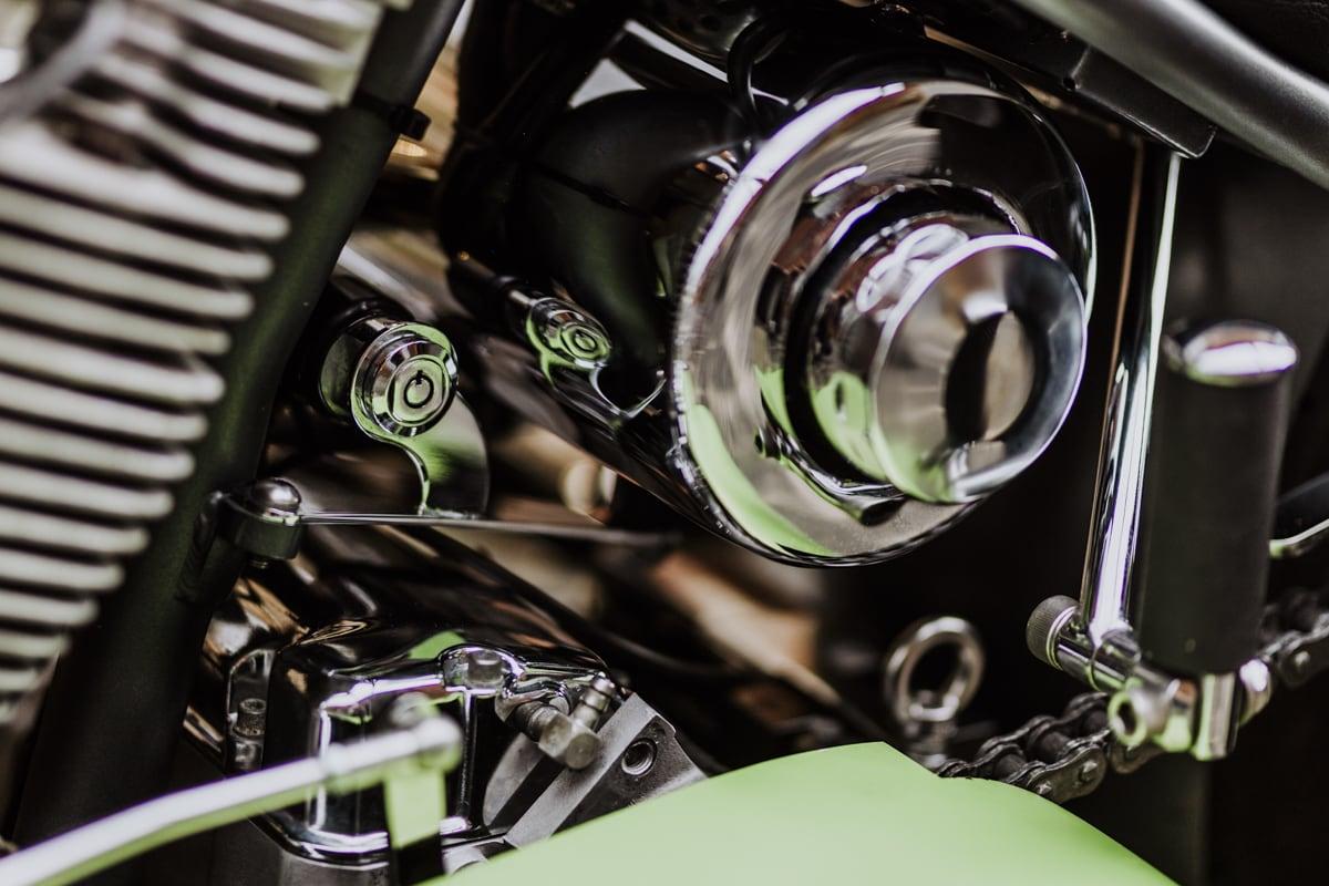 Das Motorrad als Teil der der Automotive-Fotografie